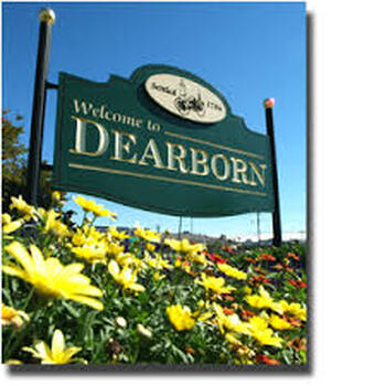 Dearborn sign